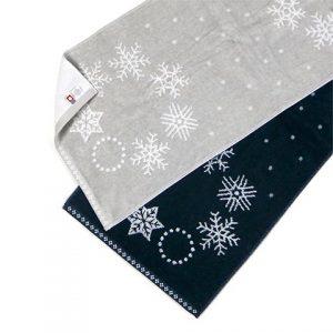 snow wreath(スノーリース) フェイスタオル