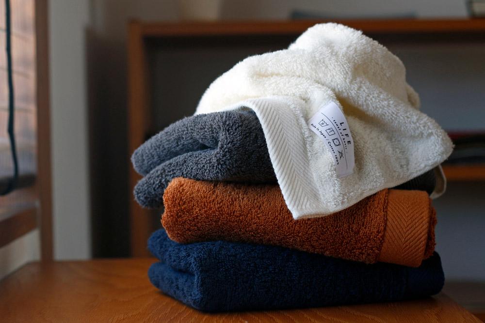 LIFE towel of basic 伊織オリジナル イメージ