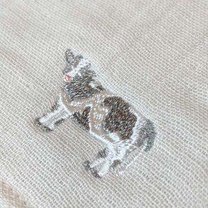 12animals(トゥエルブアニマルズ) ウシ 刺繍