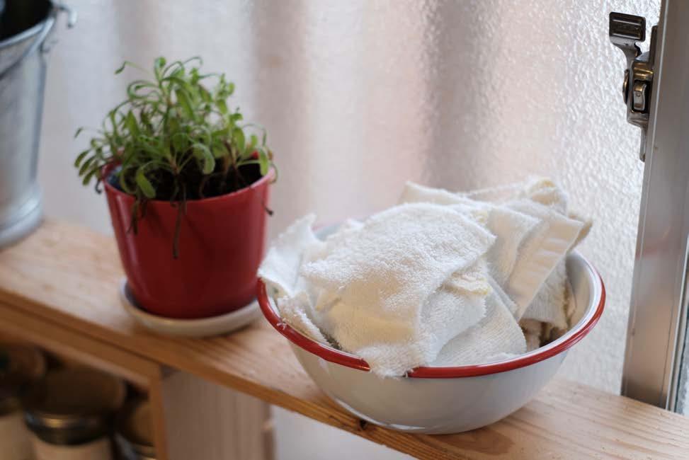 14 洗面所やこまめなお掃除が多い水回りにもタオルウエス