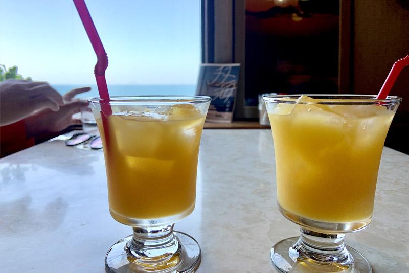 喫茶ポパイ オレンジジュース