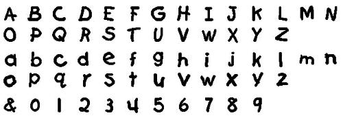 タオル 名入れ刺繍 伊織 アルファベット 書体 ファーストグレード
