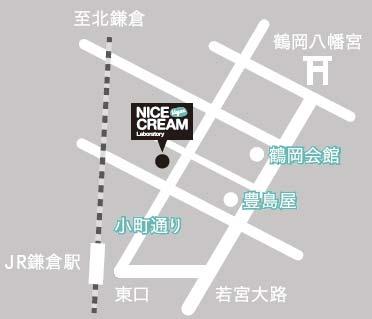 NICE CREAM 地図