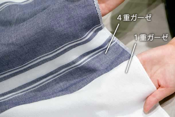 『MAKU-WRAP』(4重ガーゼの枕カバー)