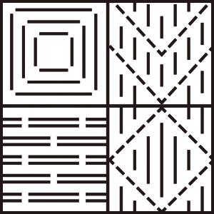 工房織座 変わり織り 図
