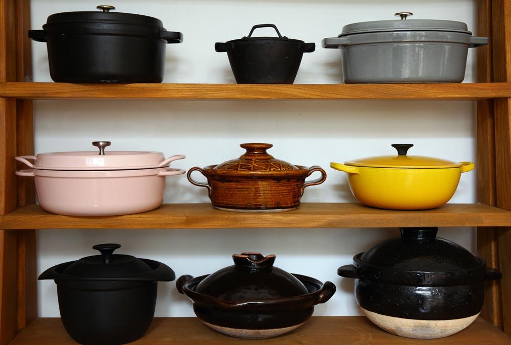 村上さんの調理道具(鍋など) 暮らしを楽しむ人とタオル 03