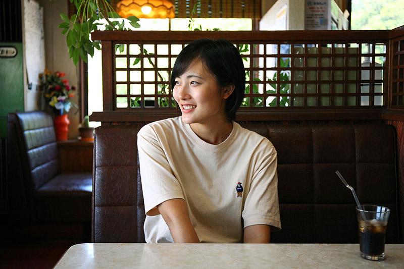 上田沙耶さん近影