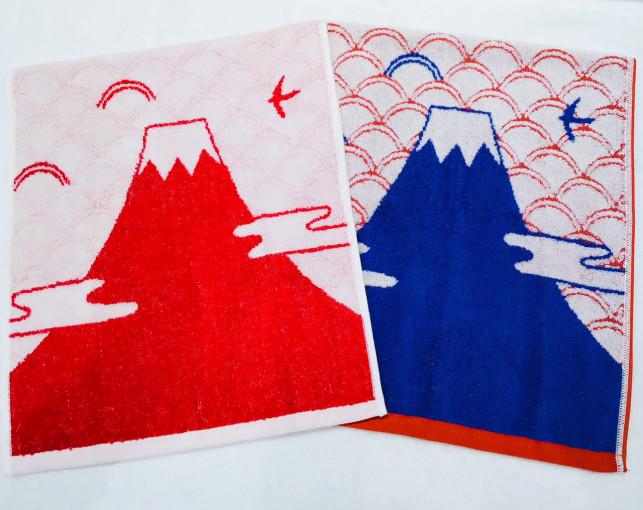 富士山ーfujisanー フェイスタオル